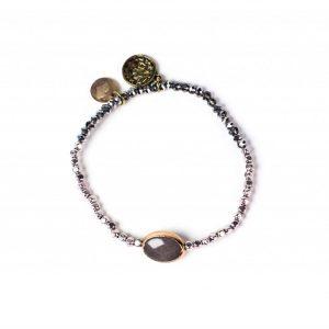 Perlenarmband Silber, handgemacht und edel