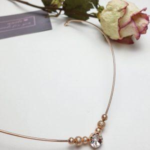 Haarreif mit Perlen in Gold - passend für Hochzeiten