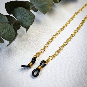 Brillenkette Gold / Sonnenbrillenkette