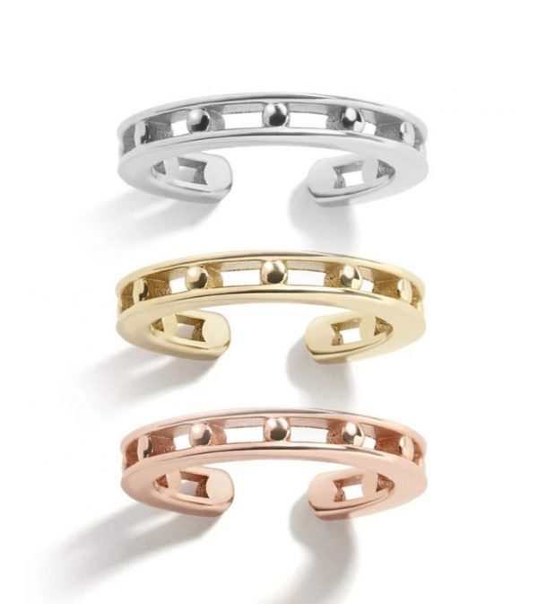 Earcuff Adva Gold, Silber, Rose