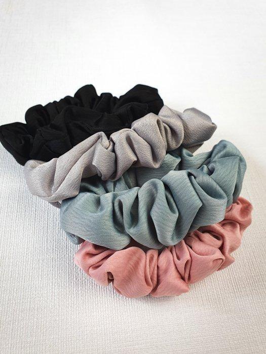 scrunchie set verschiedene farben