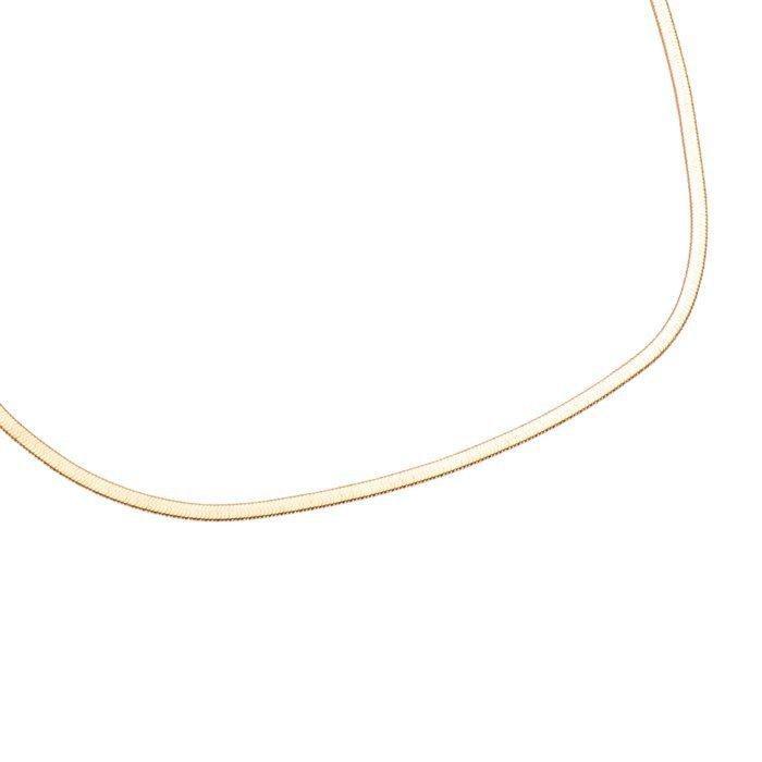 Halskette in Gold Trendfarbe