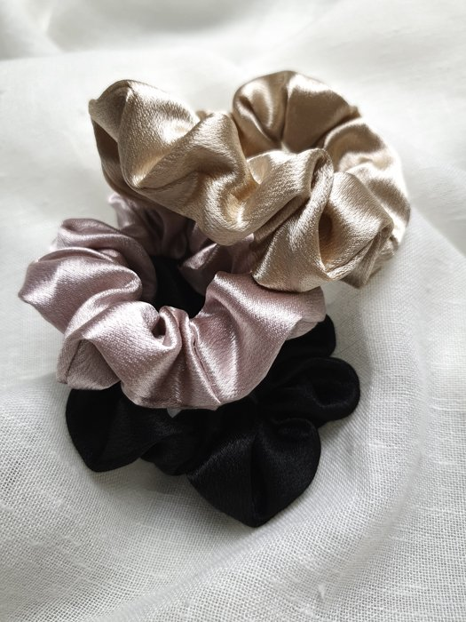Scrunchies in Trendfarben